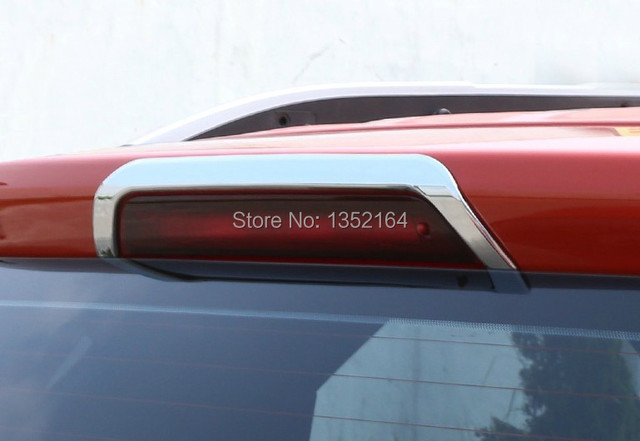 Auto exterior accessories,rear brake light trims for Ecosport 2013 2014,ABS chrome,free shipping