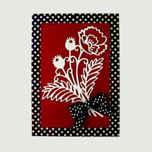 Eastshape Flowers Poppy Metal Cutting Dies Scrapbooking Hollow For Album Card Making Embossing Crafts Stencil New Arrival 2019