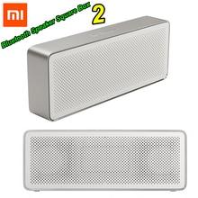 Xiaomi Mi Bluetooth динамик квадратная коробка 2 стерео портативный Bluetooth 4,2 HD Высокое разрешение звук качество воспроизведения музыки