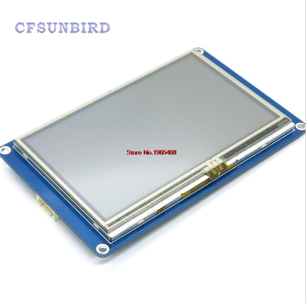 Nextion 4.3'' HMI TFT Touch Panel LCD Display Module for Arduino Raspberry Pi ESP8266 newton 5 inch free shipping hmi tft touch screen lcd display module intelligent lcd for arduino raspberry pi