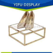 Индивидуальные металлические розничные стеллажи для обуви полки