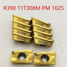lathe tool R390 11T308M PM 1025 carbide inserts turning for indexable end milling cutter machine face cutting
