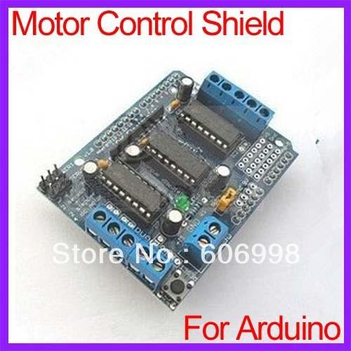 2pcs lot L293D Motor Control font b Board b font Shield For font b Arduino b