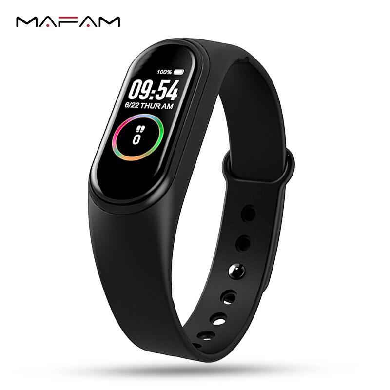 MAFAM smart watch homens mulheres IOS android à prova d' água heart rate monitor de fitness rastreador banda inteligente smartwatch smartwatch smartband