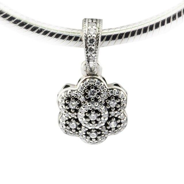 b6cab17e9 ... usa fits pandora bracelet crystallised floral necklace pendant charm  925 sterling silver 2016 winter christmas gift ...