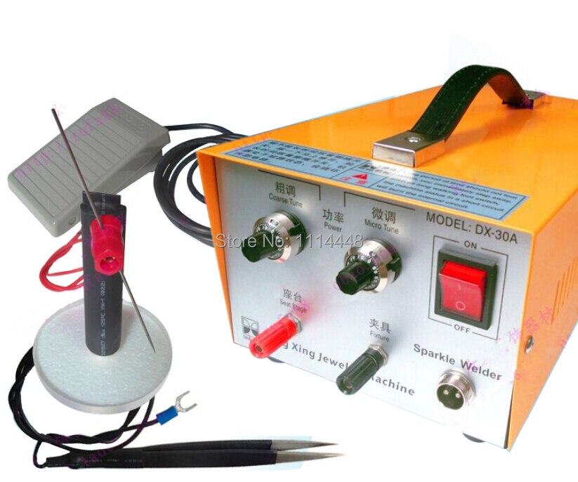 Brand New Handheld Jewelry Laser Spot Welder Welding Machine DX-30A