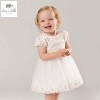 DB5174 Dave Bella Summer Baby Girls Princess Dress Childs Sweet Dress Kids Wedding Clothes Children Dress