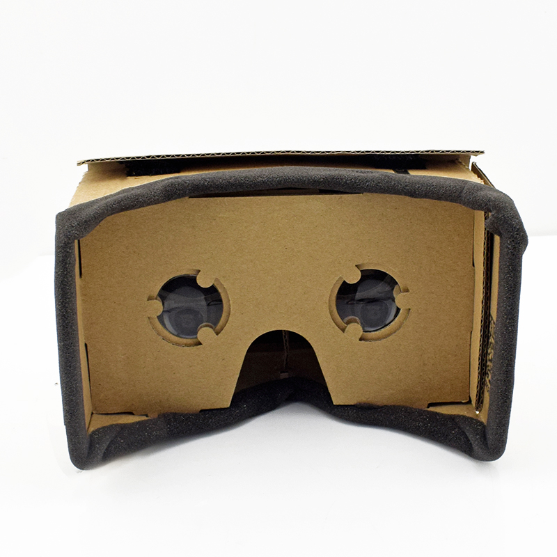 Virtual Reality Glasses Google Cardboard Glasses 3D Glasses VR Box Movies for iPhone 5 6 7 SmartPhones VR Headset 7