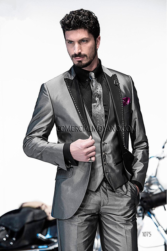 Online Shop 2015 Free shipping Customized New Hot wedding suit ...