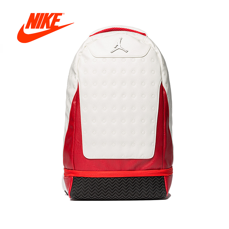 купить Original New Arrival Authentic Nike Air Jordan Retro 12 13 School Bag Sports Backpack Computer Bag по цене 6435.28 рублей