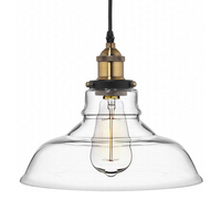 Vintage Glass Pendant Lights Hanglamp Light Fixtures Retro Industrial Pendant Lamp Loft Lamparas Colgantes 110v 220v