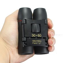 Zoom Telescope 30×60 Folding Binoculars with Low Light Night Vision for outdoor watching travelling hunting camping Hot