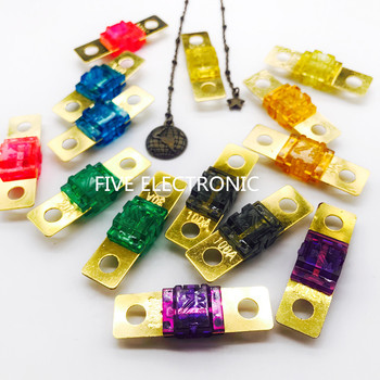 Small Auto Car Bolted fuse 20A-200A small current fork bolted fuse Auto fuse bolt fuse image