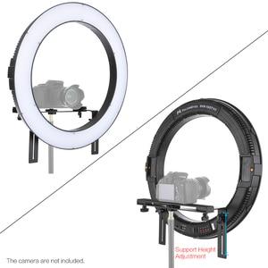 Image 4 - FalconEyes DVR 512DVC Selfie Ring Light Photography Studio LED Lamp CRI90+ 3200 5600K Adjustable Color Temperature Video Light
