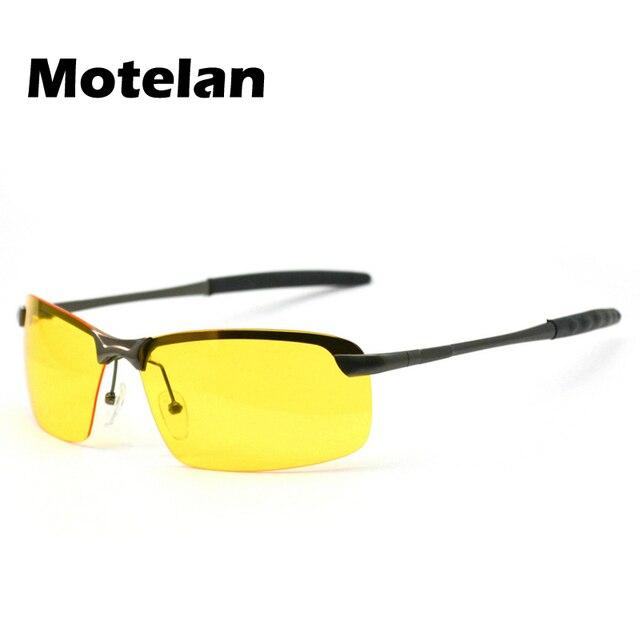 ec057fc752df4 Uso Noturno para Os Motoristas de Óculos dos homens Óculos Polarizados  Óculos de Visão Noturna Óculos