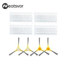 Kit di ricambio per NEATSVOR X500/X600 Robot Aspirapolvere Filtro Spazzola Laterale
