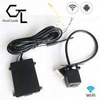 New 12V Top Wireless WiFi Backup Car Rear View Reversing Camera Rearview CMOS Cam For Android Phone / Tablet