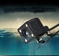 HD CCD 4 LED Reverse Camera 170 Angle Universal Car Rear View Camera IP67 Waterproof Vehicle