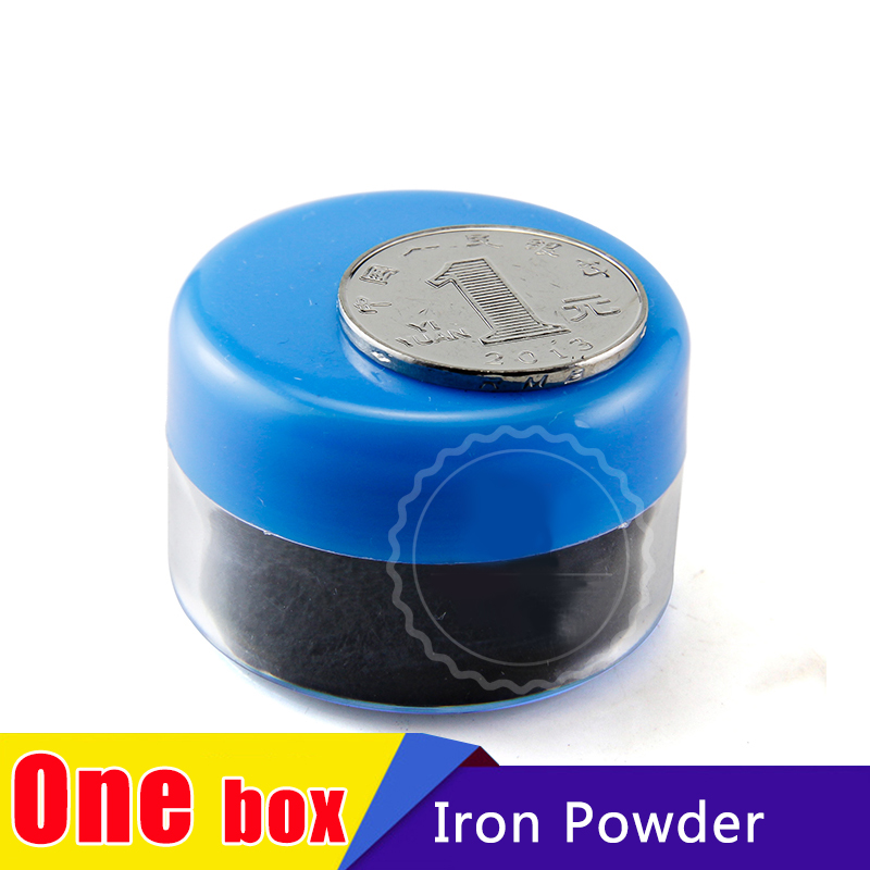 1pcs Magnetic Particle  Iron Powder for Education Science Experiments Demonstration of Magnetic Field magnet science experiments you can eat