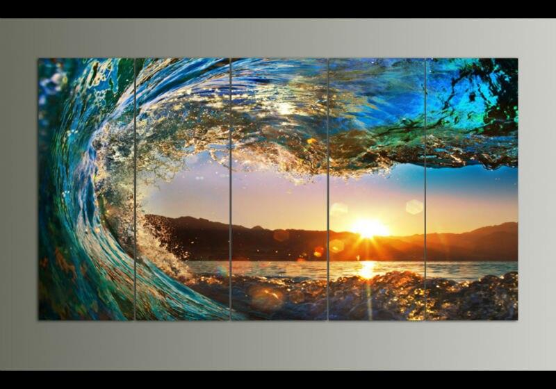 Online Buy Wholesale Ocean Wave Painting From China Ocean