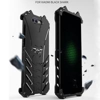 Для Xiaomi черный чехол с акулой R-JUST Бэтменом Роскошный Алюминиевый металлический чехол для Xiaomi Black Shark чехол для телефона Coque mi BlackShark