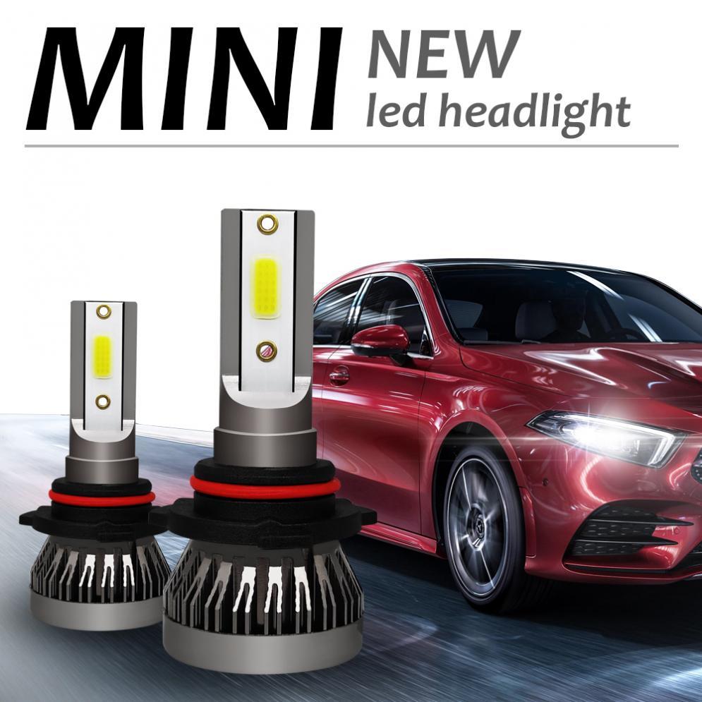 2Pcs Car Lights Bulbs LED H10 HB3 9005 LED Auto Headlights 12V 120W 12000LM 6000K Automobile Fog Lamp LED Light in Car Headlight Bulbs LED from Automobiles Motorcycles