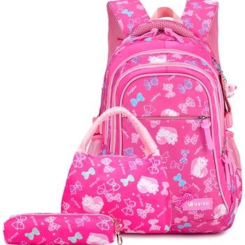 Kids primary school waterproof backpack