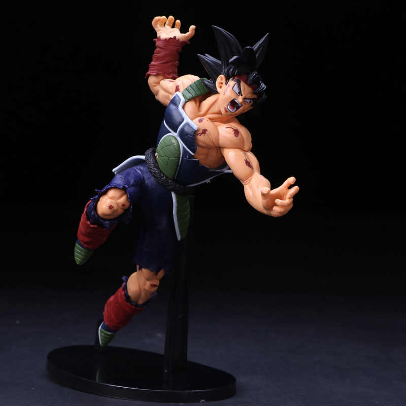 Anime Dragon Ball Z Bardock Ressurreição F Super Saiyan Goku PVC Action Figure Collectible Modelo Toy Boneca 23 cm caçoa o presente