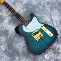 Free delivery, high quality new electric guitar, blue dog new guitar, customizable.