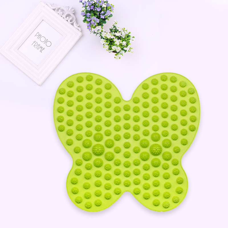 1PCS TPE Butterfly Foot Massager Pad Portable Durable Household Supplies беруши larsen e4 lu9 tpe