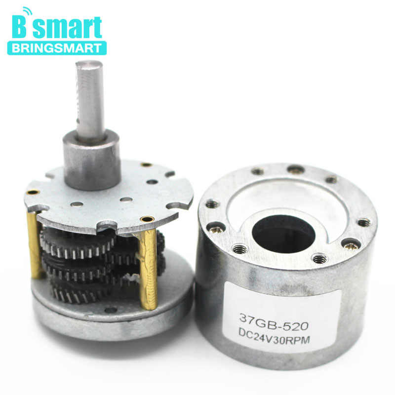 Wholesale 37GB GearBox Motor DC Motor Reducer Gearbox Shaft Lenght 12mm Metal Gear Box