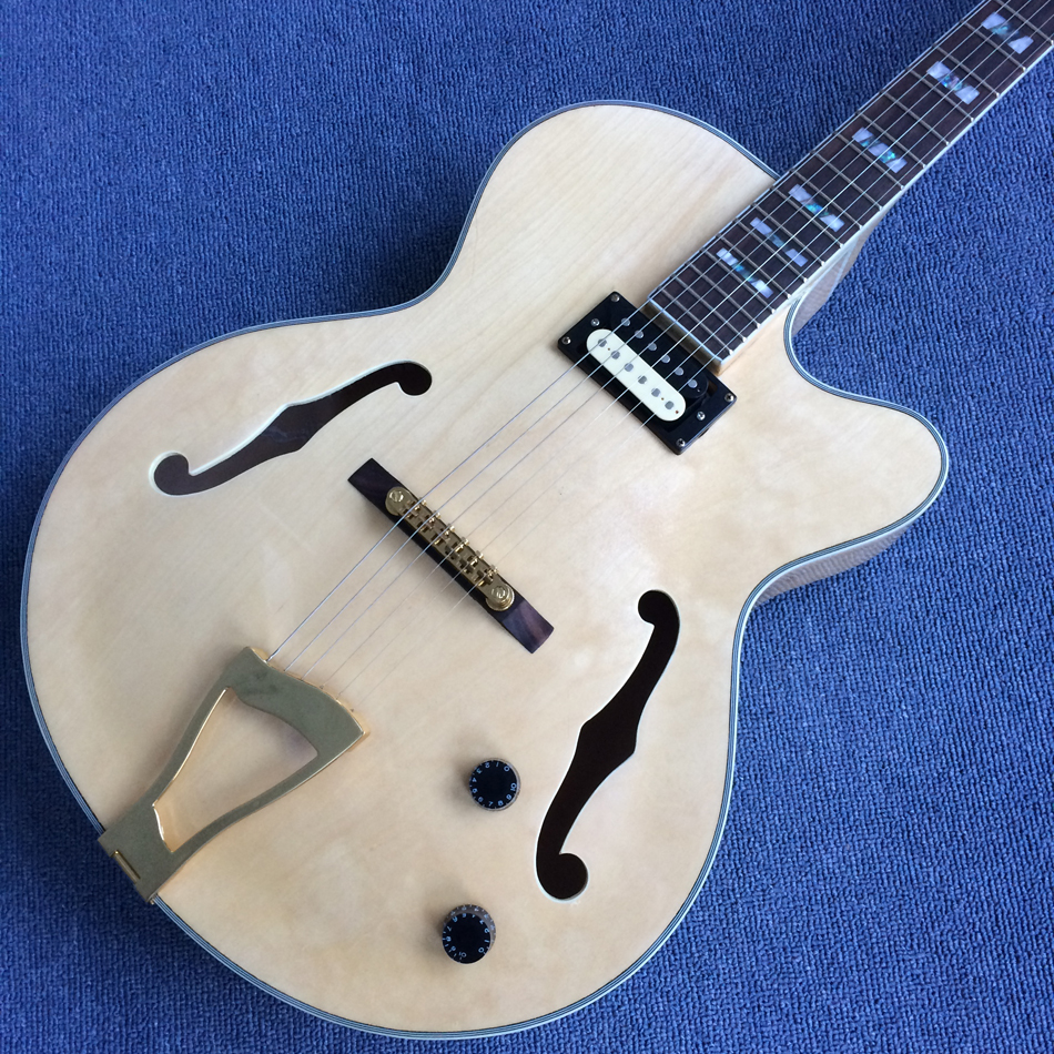 New style high quality hollow body jazz electric guitar, rosewood fingerboard ,free shipping ...