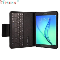 Top Quality Hot Sale Fashion 2 In 1 Bluetooth Keyboard Leather Case Stand For Samsung Galaxy