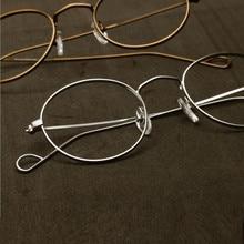 Hand Made John Lennon Vintage Oval Eyeglass Frames Full Rim Men Women Glasses Spectacles Myopia Rx able