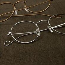 Ręcznie robione John Lennon Vintage owalne oprawki do okularów Full Rim męskie damskie okulary okulary krótkowzroczność Rx w stanie