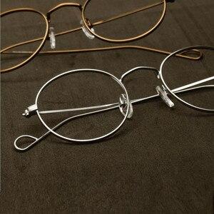 Image 1 - ハンドメイドジョン · レノンヴィンテージ楕円形の眼鏡フレーム男性女性メガネ眼鏡近視rxできる