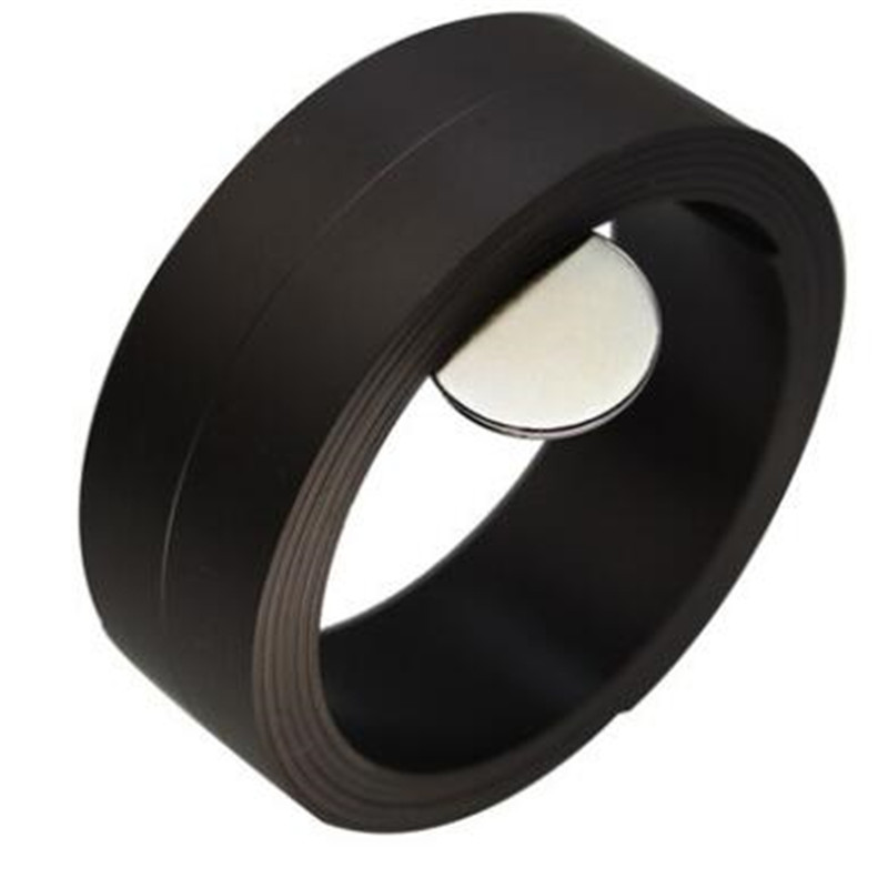 Zion 1m 5m 30 x 1mm strong flexible magnetic strip magnet strip rubber magnet tape width 30mm thickness 1mm for school home craft flexible magnetic sheet tape 620mm width 0 5mm thickness magnets roll 1m roll magnetic car sign diy 930g meter