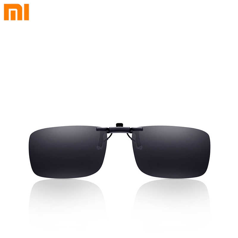 Xiaomi Turok Steinhardt TS Brand Clip Sunglasses Polarized Clear Sight Glass Anti UVA UVB Mijia for Outdoor Travel
