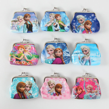 1Pcs Disney Frozen Mini Coin Purses Child Change Purse Wallet Kids Birthday Party Gifts Girl Favors personalized gift
