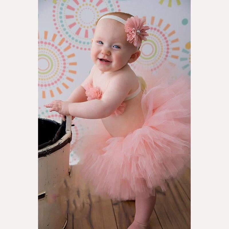 2017 Newborn Tutu Photo Props 3 Piece Set With Tutu Skirt