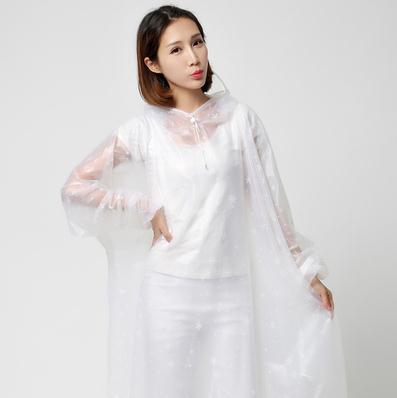 Hot selling Fashion poncho transparent single bike motorcycle electric vehicle adults outdoors men and women riding coat qy779