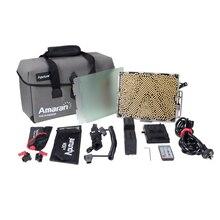 Aputure Tri-8c свет панели CRI 95 + Цвет Температура 2300 К-6800 К заполнить легкий коробке 2 батареи С V монтировать видео Лампа