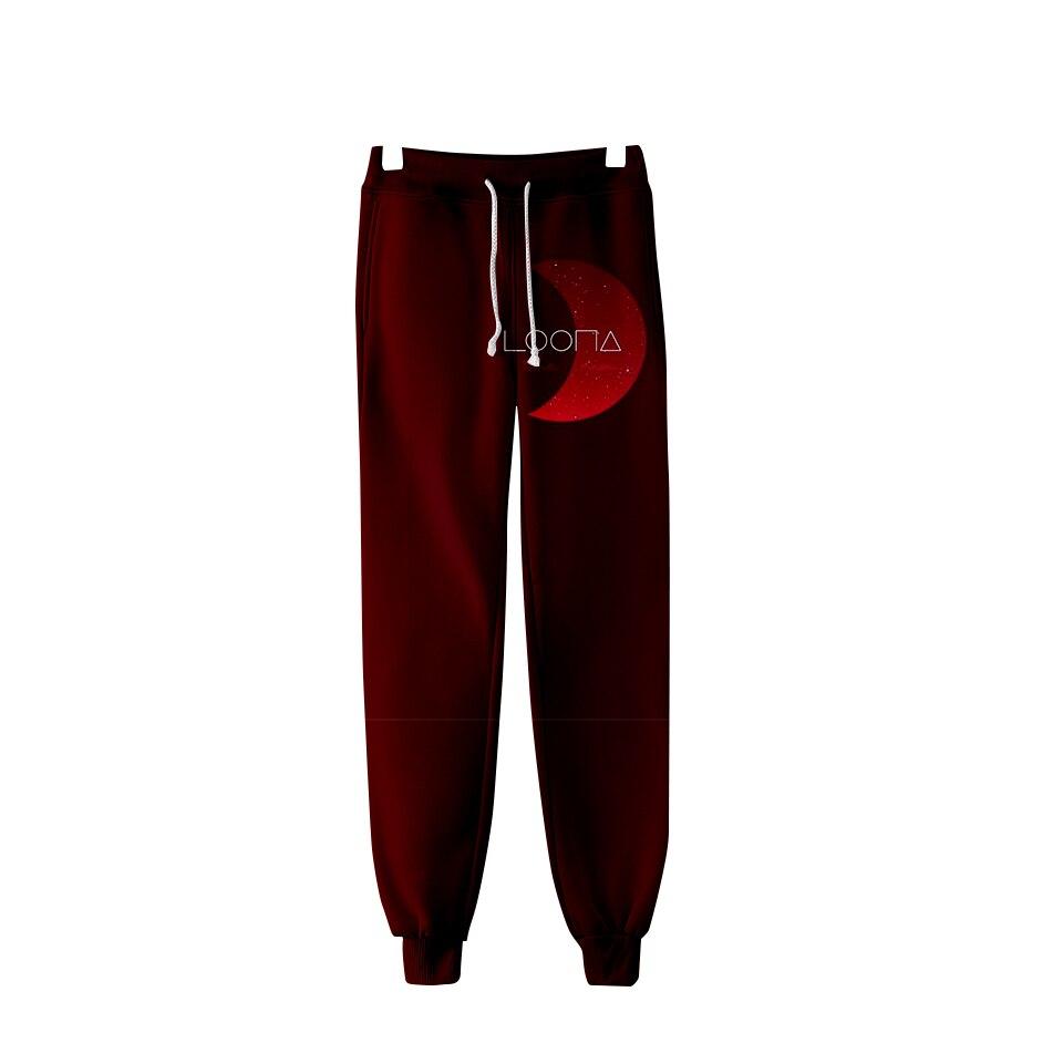 Trousers LOONA Pants Fashion Men/women Kpop 3D Warm-Pop High-Quality