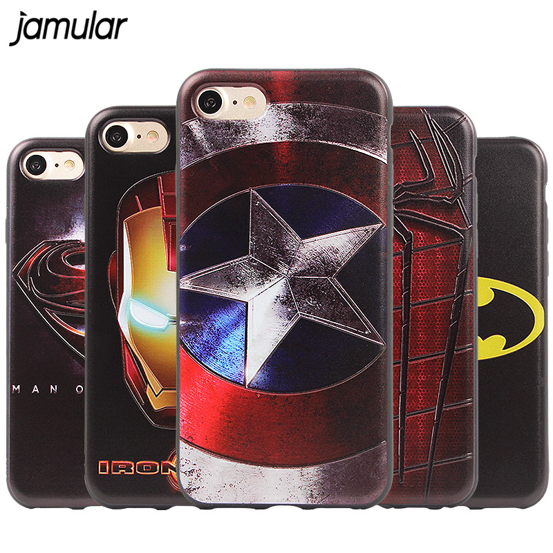 Portable Audio & Video The Avengers Superhero Case For Airpods Captain America Spider-man Batman Superman Iron Man Clear Plastic Case For Airpods Cover A Complete Range Of Specifications