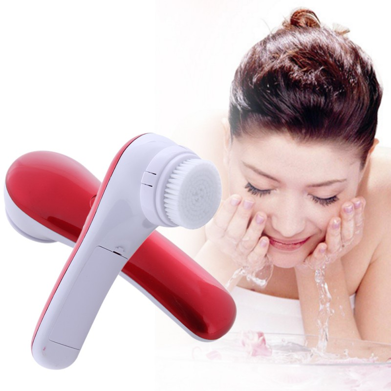 New Water-resistant Wash Face Machine Deep Clean Facial Skin Massager Electric Pore Cleansing Brush Beauty Instrument W1 sonic cleansing brush cleanser wash your face wash your face massage instrument deep pores clean cleanser electric wash brush