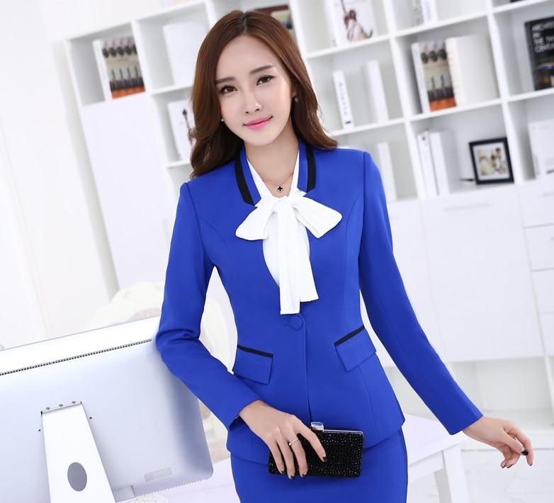 Chaquetas para mujer azul