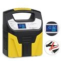 Полностью автоматическое зарядное устройство для автомобильного аккумулятора 220 В умная Зарядка для свинцово-кислотных аккумуляторов для ...