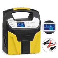 Completamente Automatico Batteria Auto Caricabatteria 220 V Intelligente di Ricarica Per La Batteria Al Piombo di Ricarica Moto Camion 10A 6A 3A 12 v 24 v