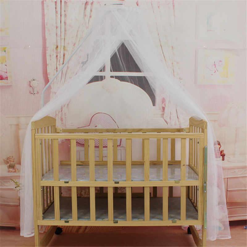 Модные комаров бар детской детская кроватка кровать для малыша или балдахин для детской кроватки домашние Москитная сетка Белый дома детская кровать Применение