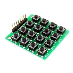 8pin 4x4 44 матрица 16 кнопок клавиатуры макет модуль Mcu для Arduino Diy Starter Kit